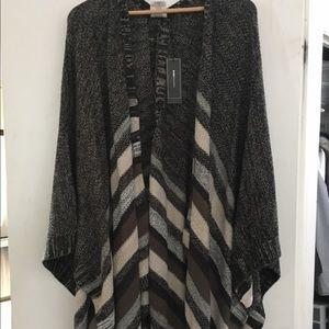 BCBG Max Azria wrap/shawl sweater BRAND NEW W/TAG!